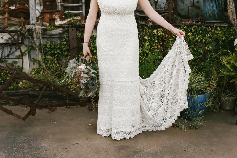 Eclectic lumberyard wedding huntsville alabama for Wedding dresses huntsville al