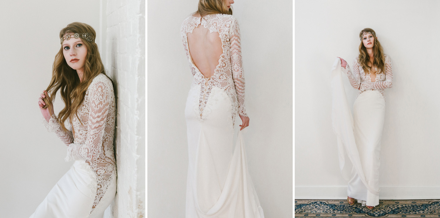 Indie Wedding Dresses, Non-traditional Bride Style