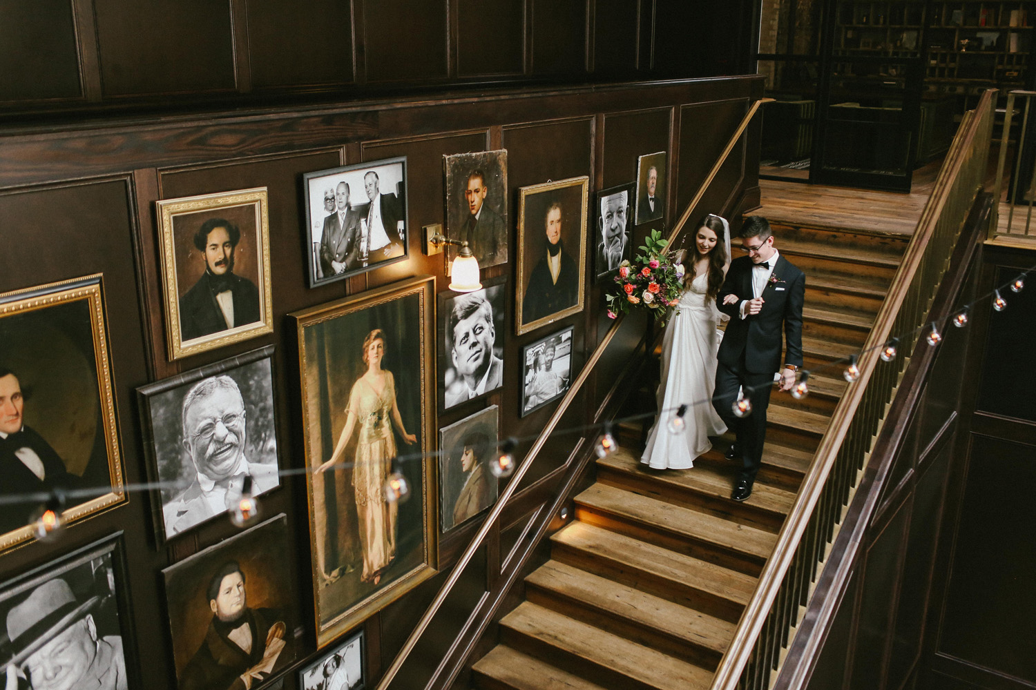 Oxford Exchange Wedding | Oxford Exchange Wedding Full Of Personality Tampa Florida
